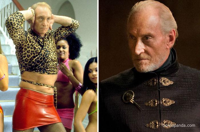 Charles Dance como David Carlton (Ali G, 2002) y como Tywin Lannister
