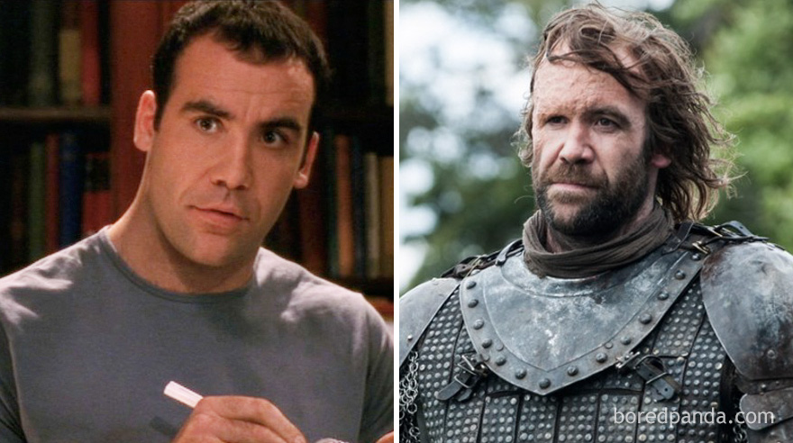 Rory Mccann As Kenny Mcleod (In 2002's The Book Group) And As Sandor Clegane Aka The Hound (In GoT)