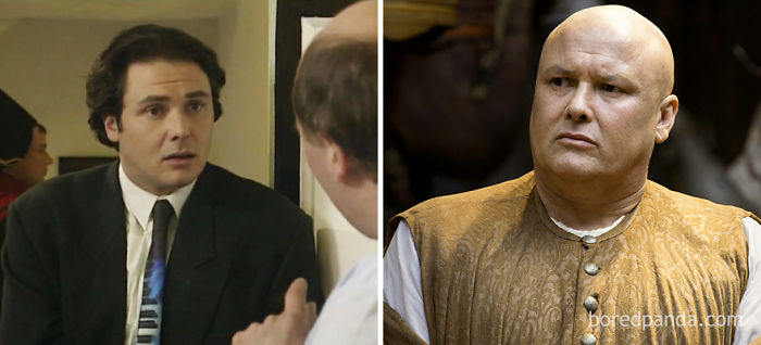 Conleth Hill As Roache (In 1992's Blue Heaven) And As Lord Varys (In GoT)