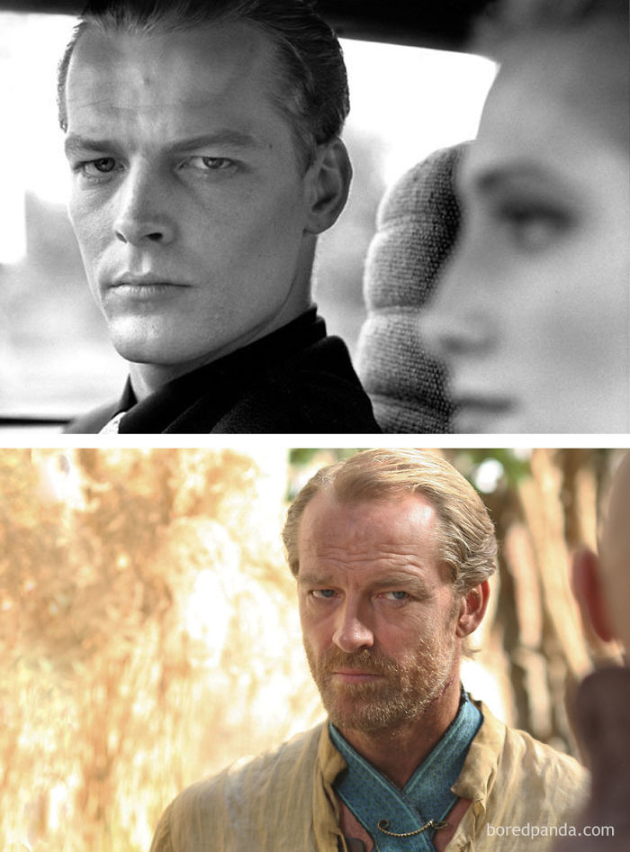 Iain Glenn As Carl Galton (In 1988's The Fear) And As Ser Jorah Mormont (In GoT)