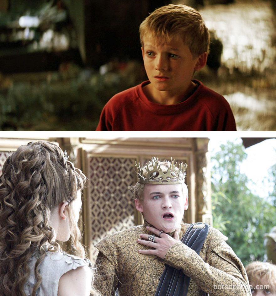 Jack Gleeson As Little Boy (in 2005's Batman Begins) And As Joffrey Baratheon (in Got)