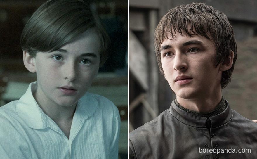 قبل وبعد مسلسل Game of Thrones - بران ستارك