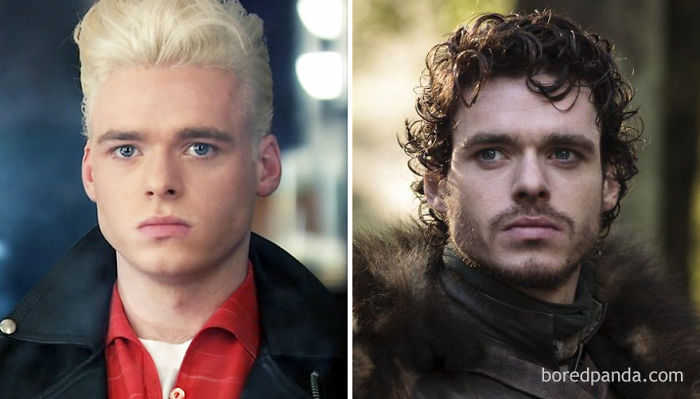 Richard Madden As Kirk Brandon (in 2010's Worried About The Boy) And As Robb Stark (in Got)