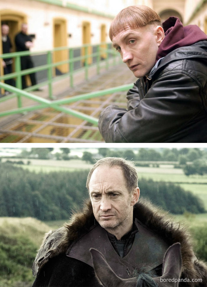 Michael Mcelhatton As Raymond 'Rats' Doyle (In 2001's Paths To Freedom) And As Roose Bolton (In GoT)