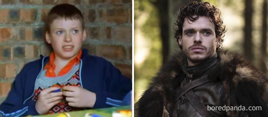 قبل وبعد مسلسل Game of Thrones - روب ستارك