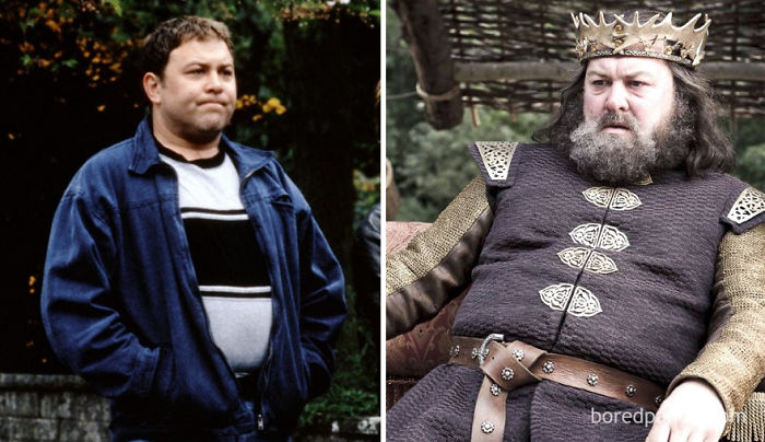 Mark Addy As David 'Dave' (In 1997's The Full Monty) And As Robert Baratheon (In GoT)