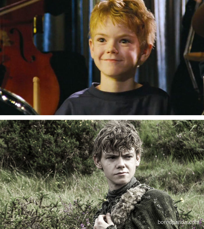 Thomas Brodie-Sangster As Sam (In 2003's Love Actually) And As Jojen Reed (In GoT)