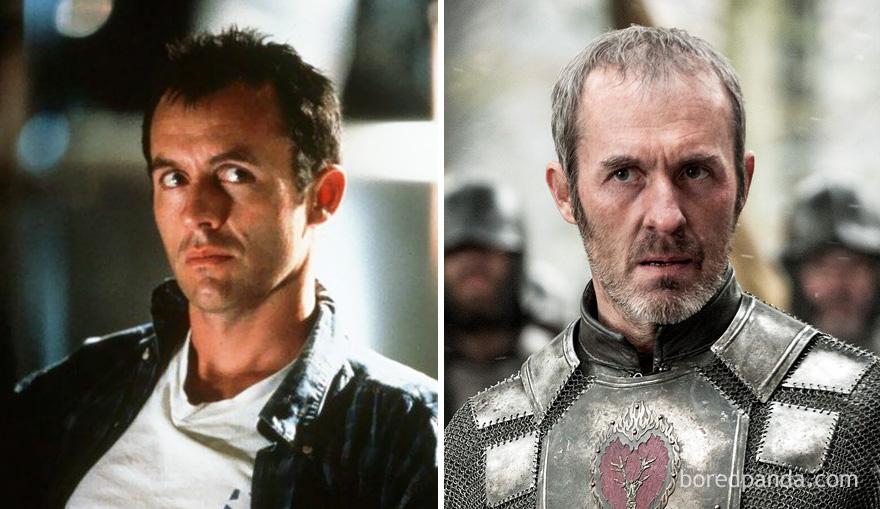 قبل وبعد مسلسل Game of Thrones - ستانيس براثيون