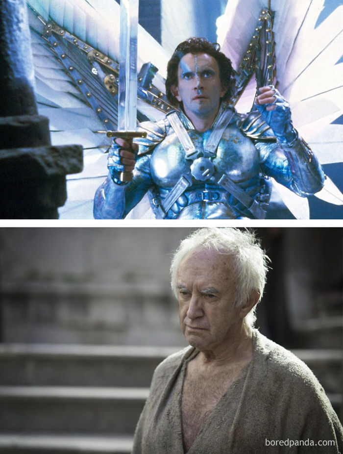 Jonathan Pryce As Sam Lowry (In 1985's Brazil) And As High Sparrow (In GoT)