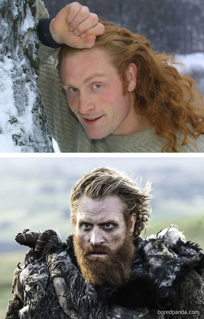 Young Kristofer Hivju And As Tormund Giantsbane (In GoT)