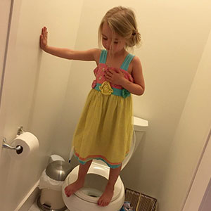 Mom Took What Seemed To Be A Funny Pic Of Her Daughter, But Soon Realized The Sad Reality