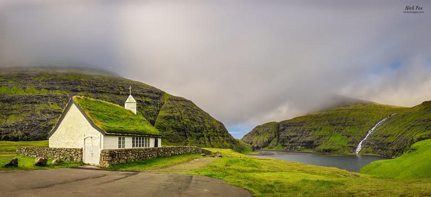 Saksun Church, Faroe Islands