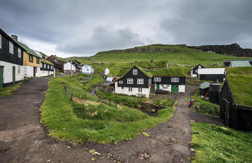 Mykines Village, Faroe Islands