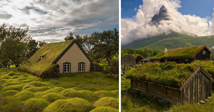 10 Scandinavian Houses With Green Roofs Look Straight Out