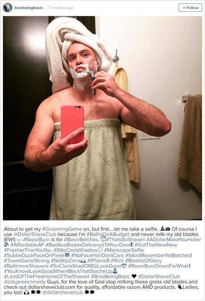 Mid-Grooming Selfie