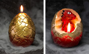 Dragon Egg Candle Lets You Become The Mother Of Your Very Own Dragon