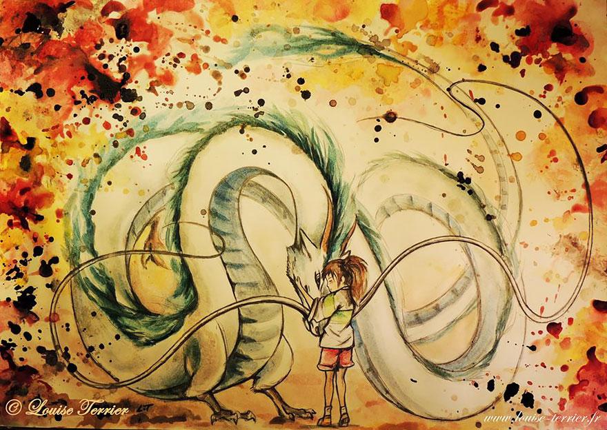 hayao-miyazaki-studio-ghibli-paintings-fan-art-louise-terrier-10