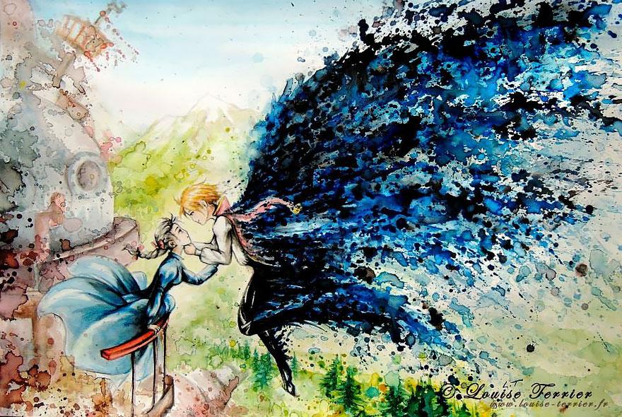 hayao-miyazaki-studio-ghibli-paintings-fan-art-louise-terrier-3