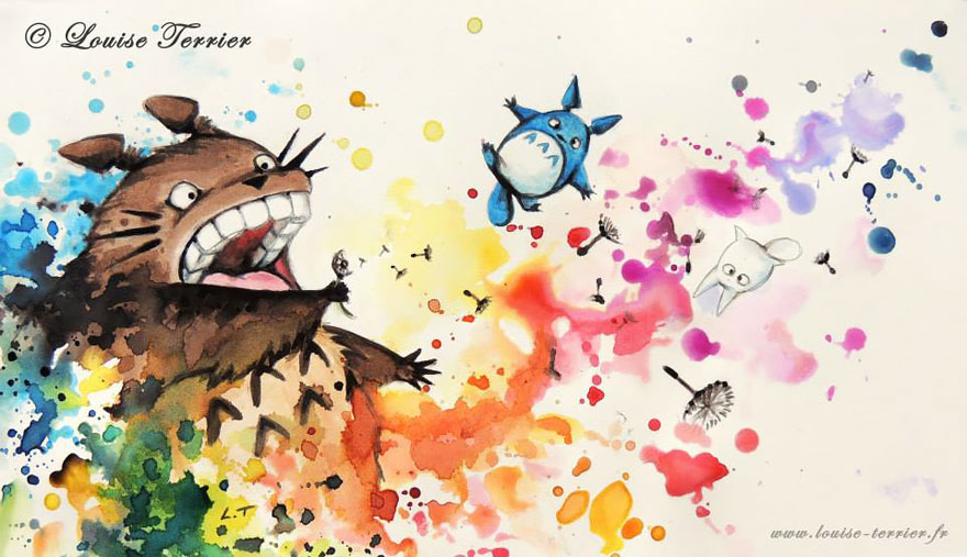 hayao-miyazaki-studio-ghibli-paintings-fan-art-louise-terrier-6