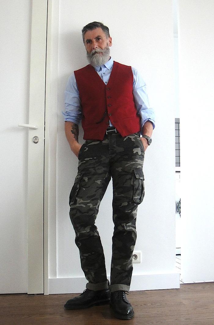 Hipster Fashion Model