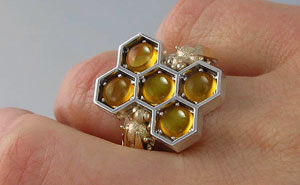 Honeycomb Jewelry By WingedLion