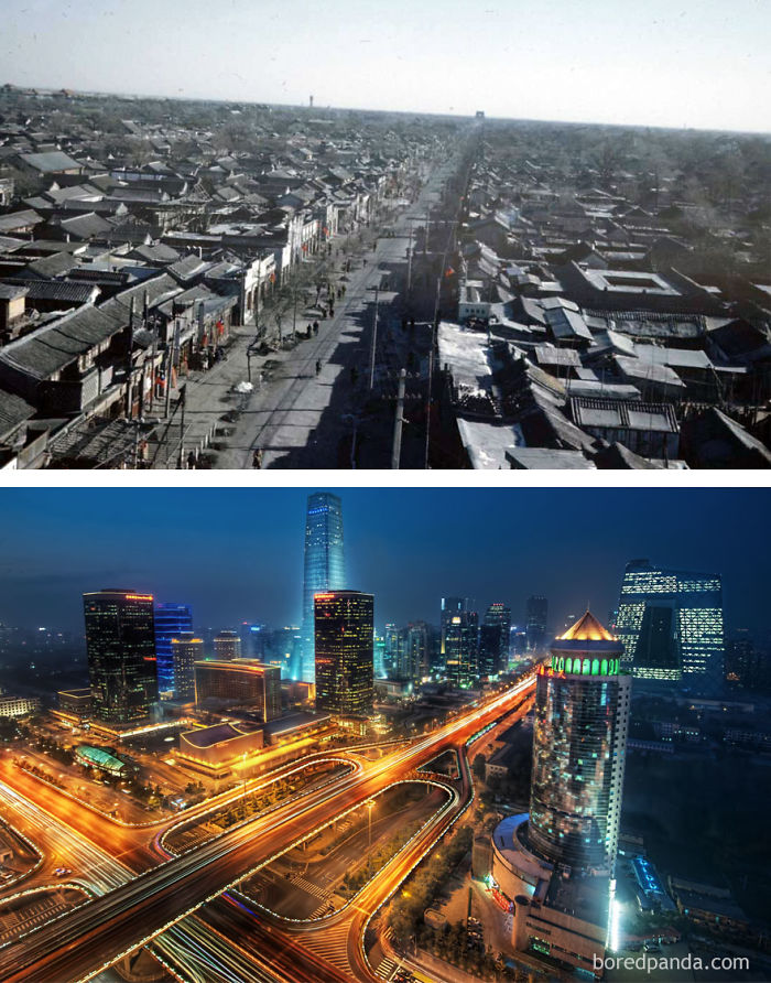 Beijing, China – 1947 And Present