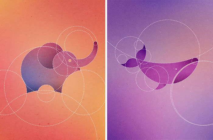 I Made 13 Animals Out Of 13 Perfect Circles