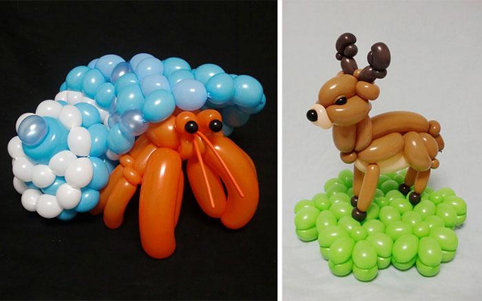 I Create Realistic Balloon Animals