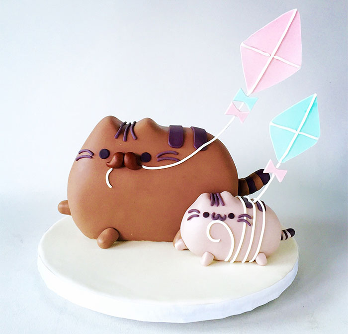 How To Make A Purrfect Pusheen Father's Day Cake For Your Dad