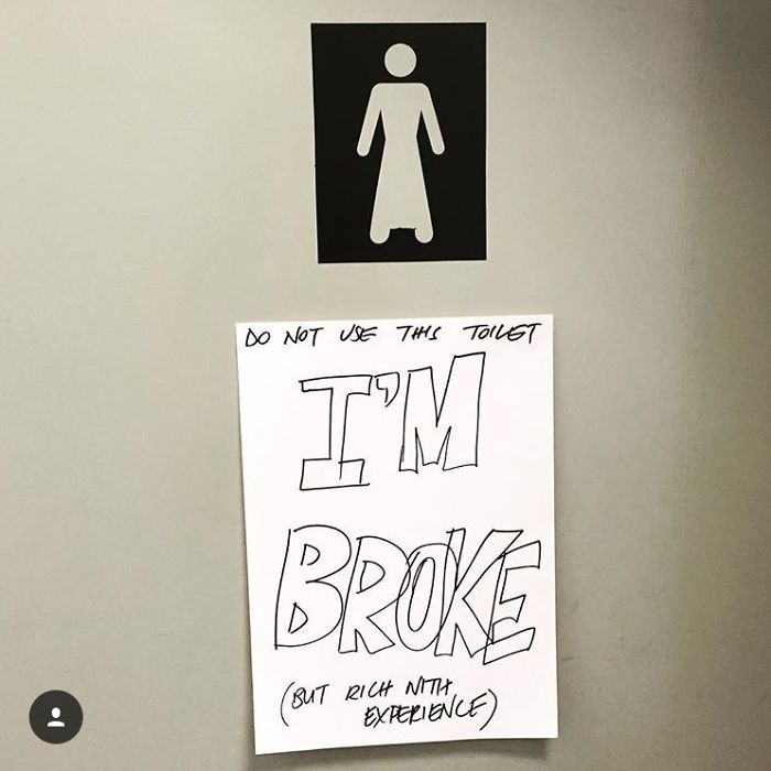 A Mostly Female Office First Turned The Mens Bathroom Into A Ladies. And Then It Broke