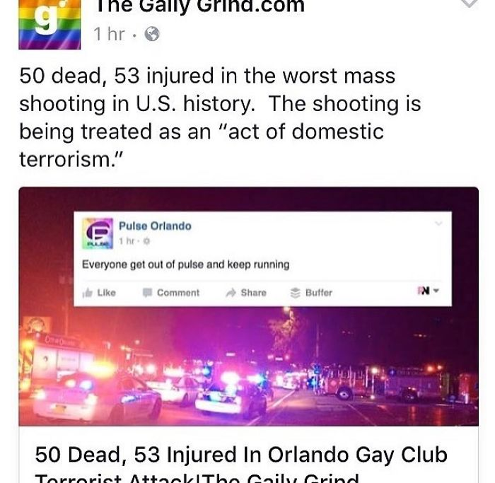 Shooting In Orlando