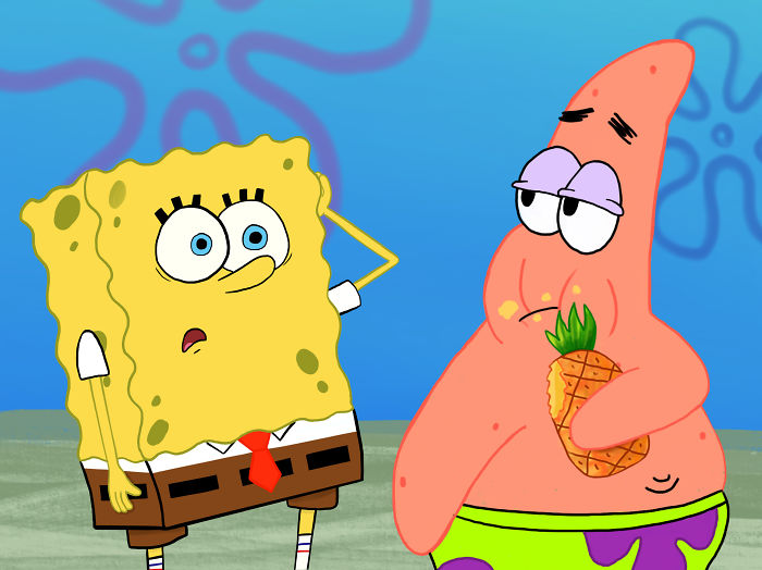 Patrick, I Live In A Pineapple!