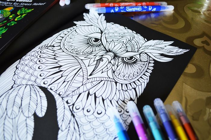 This Coloring Book Will Make You Relax With Its Awesome Animal Designs