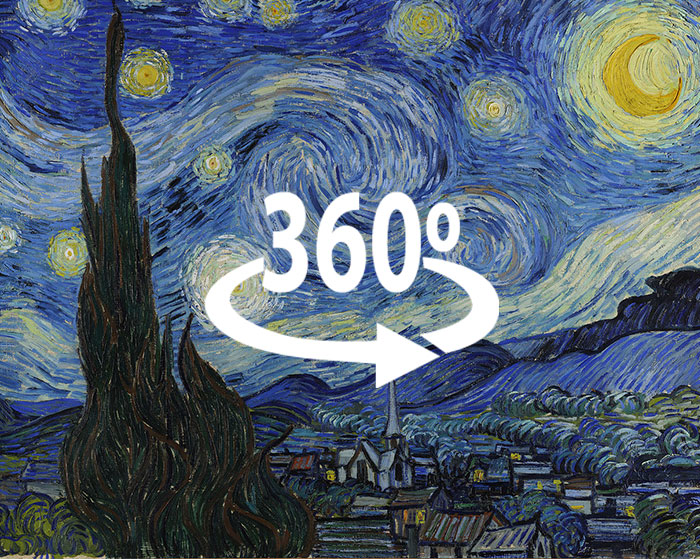 I've Made Van Gogh's 'The Starry Night' In 360°