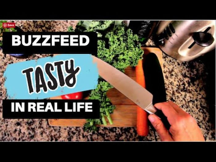 Buzzfeed Tasty In Real Life