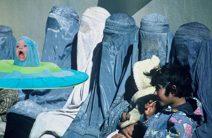 Swaddling Burka
