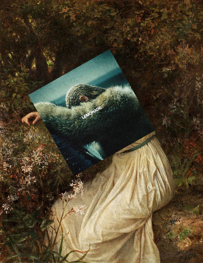 I Combine Album Covers With Classical Paintings (Part 2)