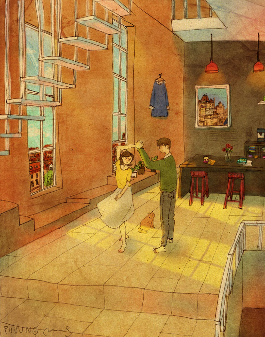 Love Is In The Small Things New Illustrations By Korean