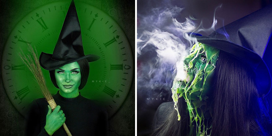 The Wicked Witch  Before And After Melting