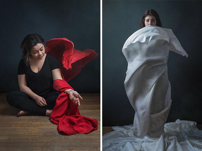 We Represented Mental Illnesses Through Conceptual Portraits