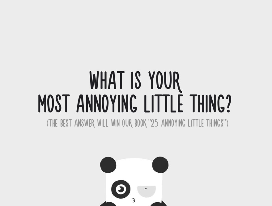 Annoying Little Things