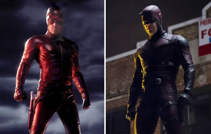 Daredevil 2003 And 2016