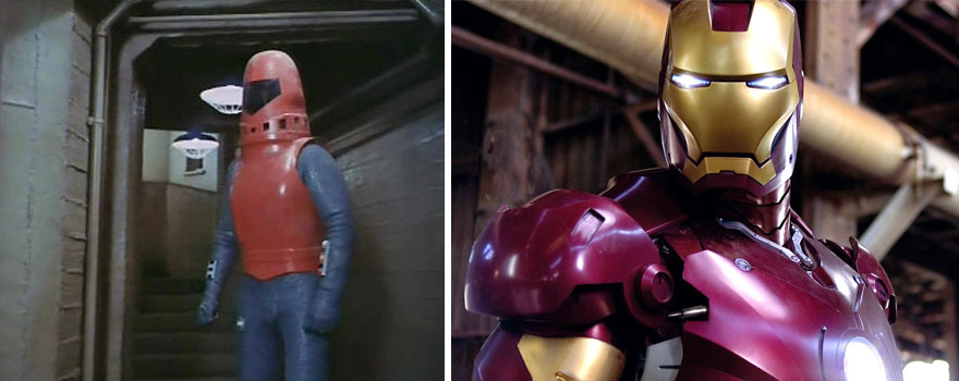 Exo-Man 1977 And Iron Man 2008