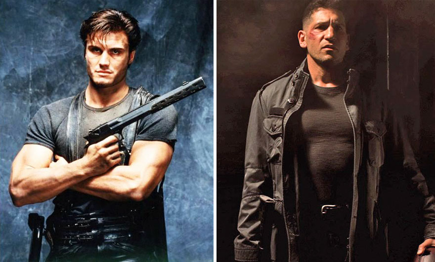The Punisher 1989 And 2015