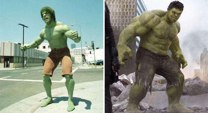 Hulk 1978 And 2012