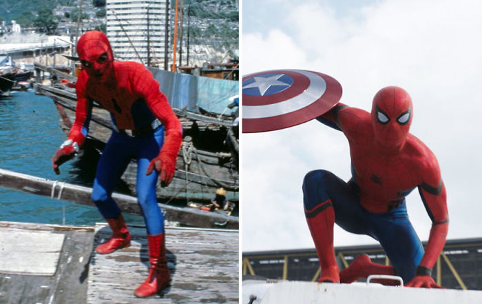 Spider-Man 1977 And 2016