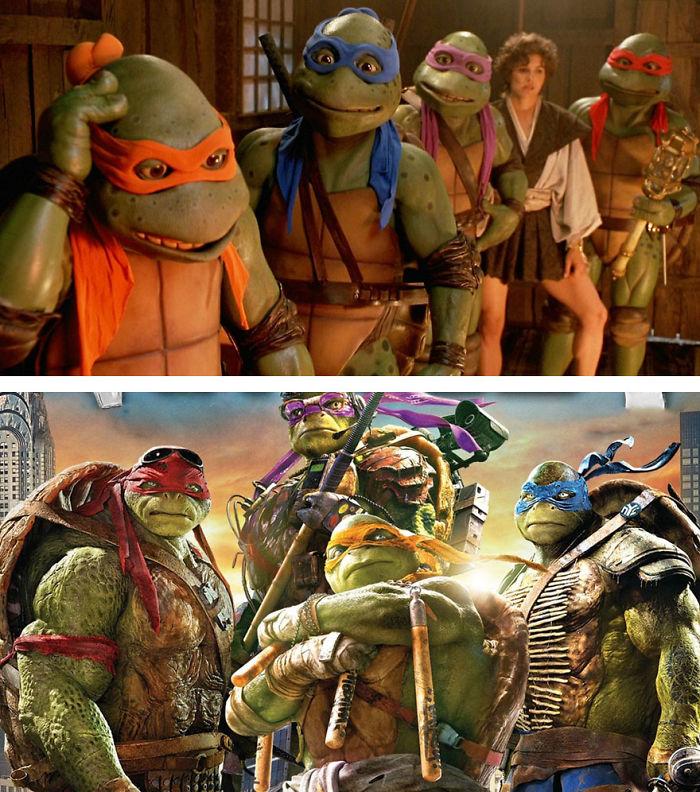 Teenage Mutant Ninja Turtles 1993 And 2016