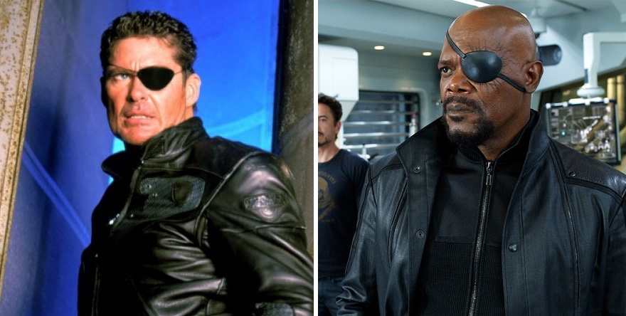 Nick Fury 1998 And 2012