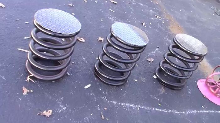 Metal Bar Stools By Raymond Guest