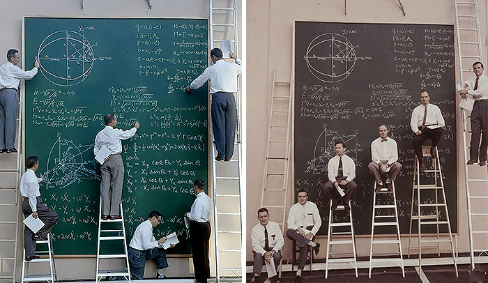 NASA Before PowerPoint in 1961